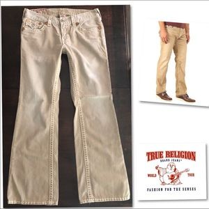 True Religion Billy Super T Men's Jeans 34 X 34